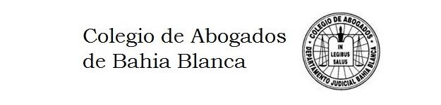 Colegio de Abogados de Bahía Blanca